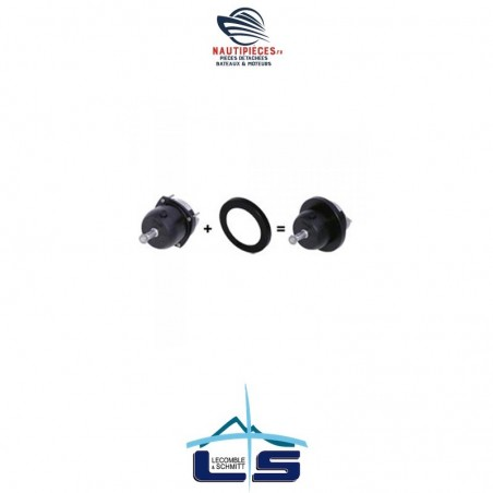 2201058 cache plastique pompe de direction hydraulique LECOMBLE & SCHMITT
