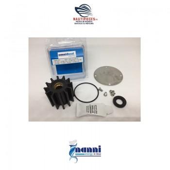970312432 kit réparation pompe eau de mer moteur NANNI DIESEL F6B-9 10-24515-01 JOHNSON PUMP 4.380TDI 4.390TDI T4.155 T4.165 T4.