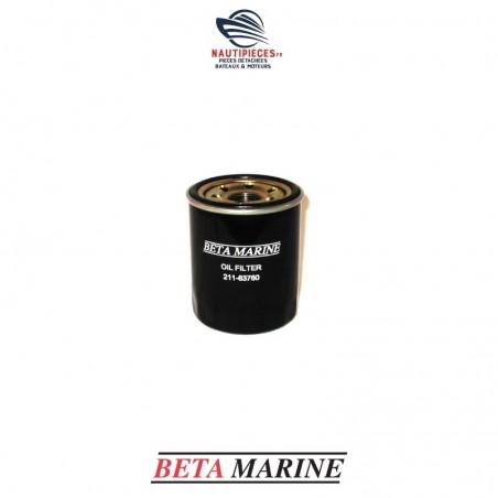 211-63760 filtre à huile moteur BETA MARINE de 10 à 25 cv