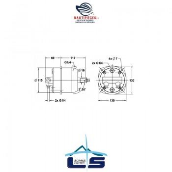 Pompe direction hydraulique...