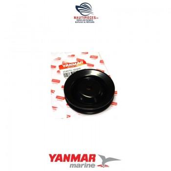 124070-42400 poulie pompe eau de mer moteur YANMAR MARINE GM HM YM