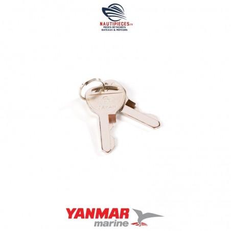 124070-91290 jeu 2 clé de contact moteur diesel YANMAR MARINE GM YSM HM