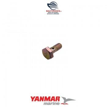 105582-59150 vis creuse M8 circuit gasoil moteur YANMAR MARINE 1GM 1GM10 2GM 2GM20 3GM 3GM30 3HM 3HM35 2QM 2QM15 2QM20 3QM 3QM30