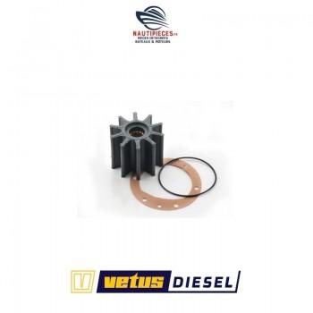 STM8250 kit turbine pompe eau mer moteur VETUS DIESEL DT43 DTA43 DT44 DTA44 DT64 DTA64 DT66 DTA66 DT67 DTA67 base DEUTZ