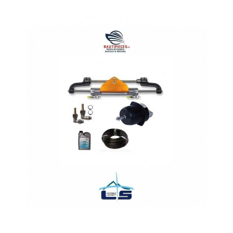 2203351 Kit direction hydraulique LS225 PRO LECOMBLE & SCHMITT à montage frontal pour moteur hors-bord jusqu'à 225 CV