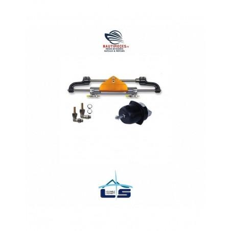 2203375 Kit direction hydraulique LS225 PRO LECOMBLE & SCHMITT à montage frontal pour moteur hors-bord jusqu'à 225 CV