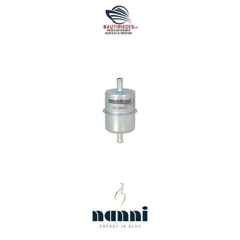 Filtre à gasoil pour moteurs NANNIDIESEL 48100919 N2.10 ECO