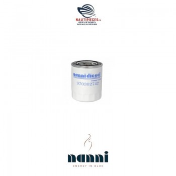 Filtre à huile moteur NANNIDIESEL 970302742 3.100HE 3.110HE N3.30 4.150HE N4.38 302742