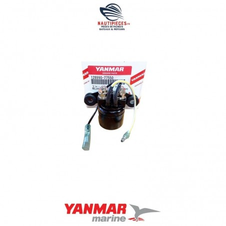 128990-77550 relais démarrage moteur diesel YANMAR MARINE 2YM15 3YM20 3YM30
