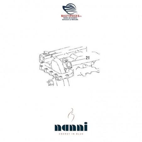 970312238 joint de sortie d'eau sur culasse ORIGINE moteur NANNI DIESEL base TOYOTA 4.380TDI 4.390TDI T4.155