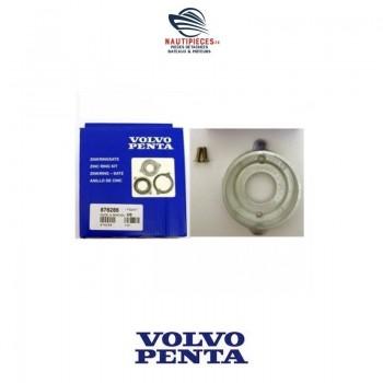 876286 kit anode zinc ORIGINE sail drive moteur diesel VOLVO PENTA 120S MS25S 851983