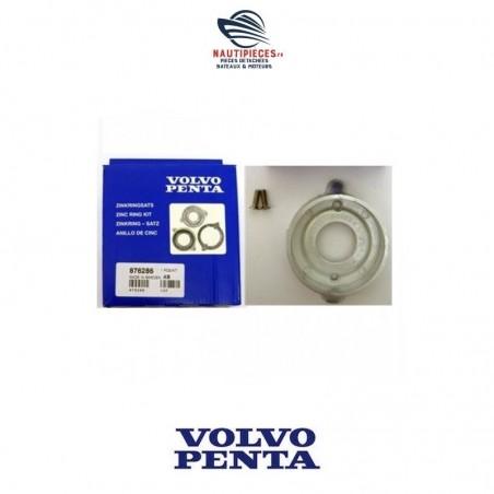 876286 kit anode zinc ORIGINE sail drive moteur diesel VOLVO PENTA 120S MS25S