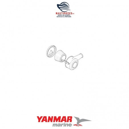 128270-12500 filtre à air complet YANMAR MARINE 2GM 2GM20 3GM 3GM30