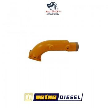 STM3075 joint coude échappement moteur VETUS DIESEL M4.14 STM3045 STM3071