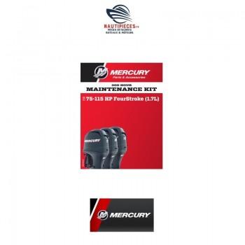 8M0097857 kit entretien 300H moteur hors-bord MERCURY & MARINER F80EFI / F100EFI / F115EFI 1.7L