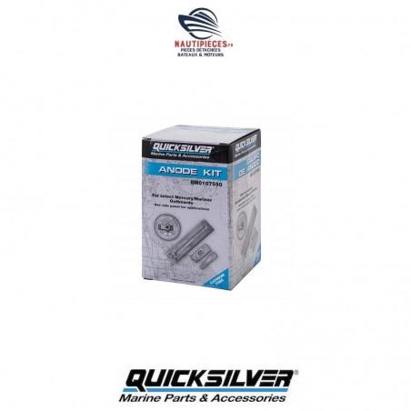 8M0107550 kit anodes aluminium origine QUICKSILVER MERCURY VERADO 4 cylindres OPTIMAX DFI