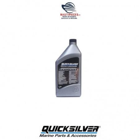 858064QB1 bidon huile embase HI-PERF 1 litre QUICKSILVER MERCURY