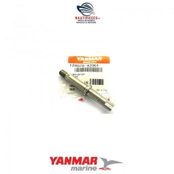 124070-42061 arbre couvercle pompe eau mer moteur YANMAR 124070-42060 YSB8 YSE8 YSM8 YSB12 YSE12 YSM12 2QM15 2GM20 3GM30