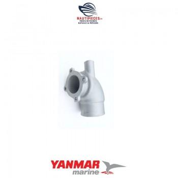 119173-13501 coude d'échappement origine pour moteur diesel YANMAR MARINE type 4LH-DTE 119173-13500
