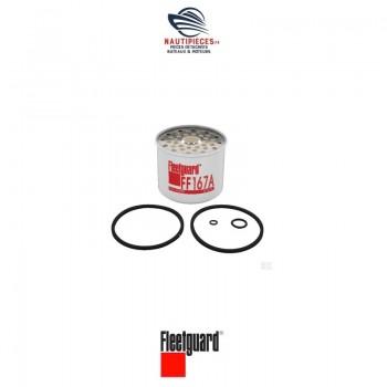 FF167A cartouche filtre gasoil FLEETGUARD HDF296 CAV296 NANNIDIESEL 970875102 PERKINS 26561117 VETUS STM9028 VOLVO PENTA 3581078