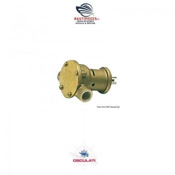 16.050.00 pompe eau mer OSCULATI NAUCO FPR009 JABSCO 29300-2001 JOHNSON PUMP F35B-9 10-35211-3 10-35122-1 NANNIDIESEL 970300495