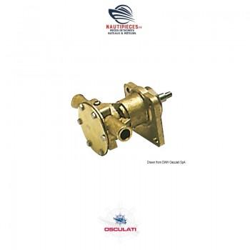 16.044.00 pompe eau mer OSCULATI NAUCO FPR0012 JABSCO 29350-1101 29350-1001 VOLVO PENTA 3580064 MD2010A MD2010B MD2020A MD2020B