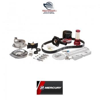8M0130835 kit entretien 300 heures moteurs hors bord MERCURY MARINER VERADO L4 de 135 à 200 cv 4 cylindres