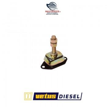 KSTEUN75V support moteur bateau / silent bloc 75 kg VETUS DIESEL K75 STM1071