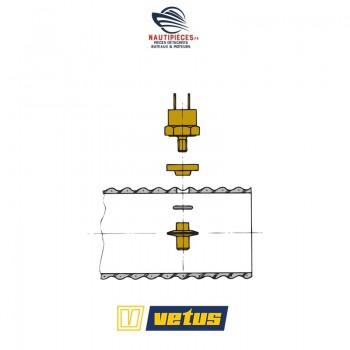 XHSH sonde alarme température tuyau échappement moteur VETUS DIESEL montage sur tuyau échappement