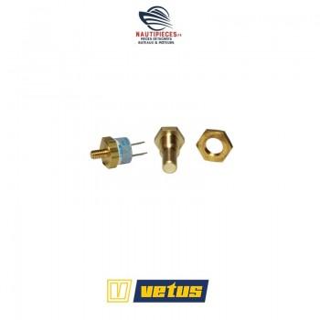 XHSM sonde alarme température pot échappement moteur VETUS DIESEL montage sur waterlock