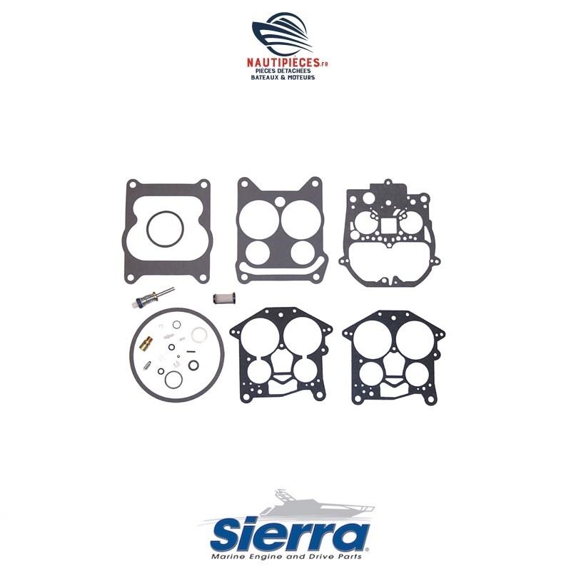 18-7095 kit réparation carburateur ROCHESTER 4MC 4MV SIERRA moteur essence inboard CRUSADER MERCRUISER OMC VOLVO PENTA V6 V8