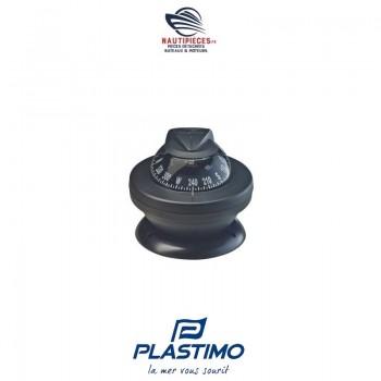 63854 compas de route bateau moteur OFFSHORE 55 PLASTIMO noir