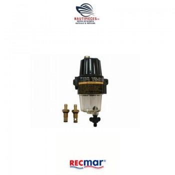 REC90794-46866 filtre décanteur séparateur eau carburant RECMAR essence SUZUKI MARINE 65900-98J00 YAMAHA 90794-46866
