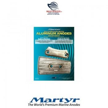 CMDPHKITA kit anodes aluminium MARTYR embase z drive VOLVO PENTA DPH DPR 3588745 3588746 3863206