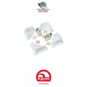00009797 kit fixation glacière IGLOO MARINE ULTRA AD L60585 PLASTIMO 13306 QUICKSILVER 875028 EUROMARINE 060206
