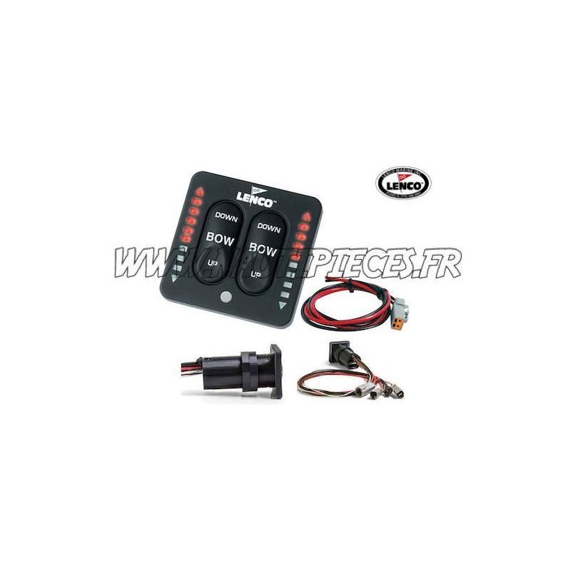 Tableau commande flaps LED LENCO 15170-001