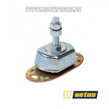 Support moteur HY150 VETUS silent bloc