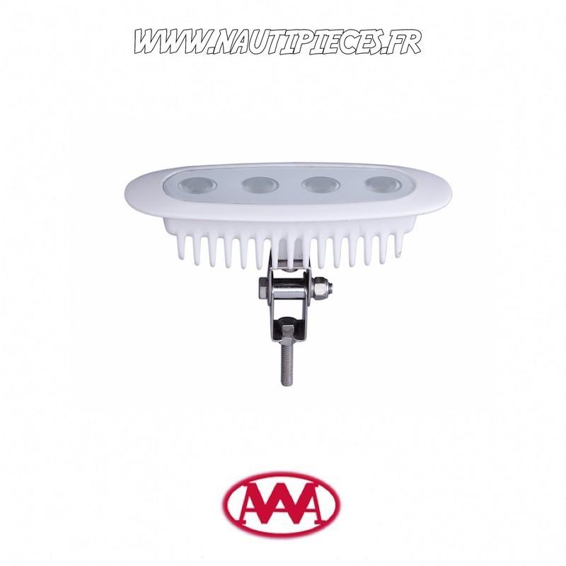 01608-WB Projecteur éclairage de pont étanche LED 12W AAA boitier alu