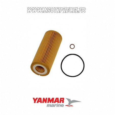 Filtre à huile pour moteurs diesel YANMAR MARINE 165000-69520 4BY-150 4BY-180 4BY2-150 4BY2-180