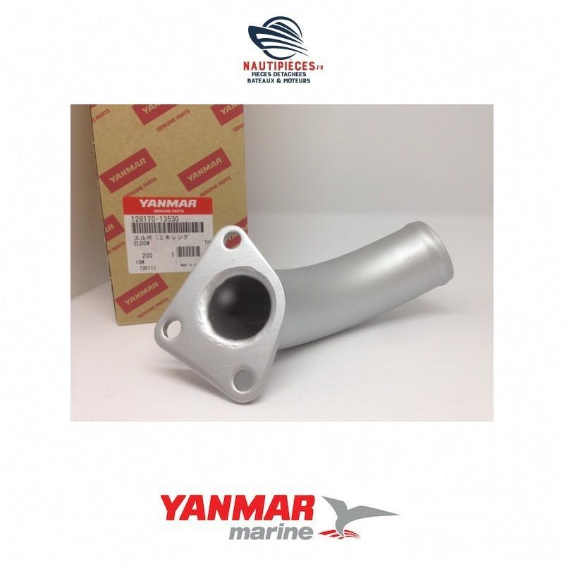 Coude échappement origine YANMAR MARINE GM (3 vis) 128170-13530