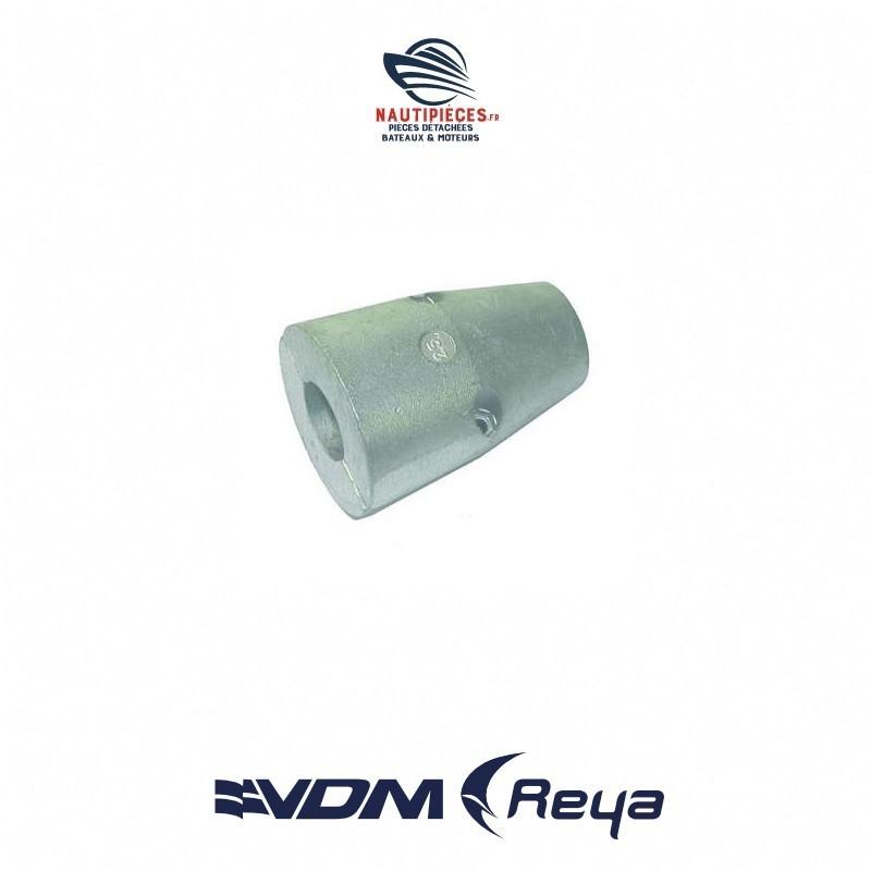 Anode zinc arbre profilée 25MM VDM ANO2580