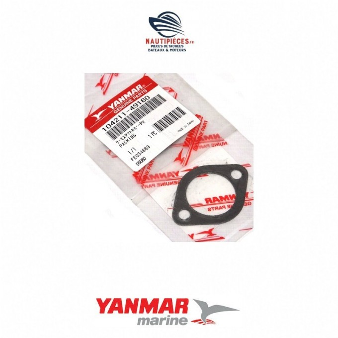 104211-49160 joint thermostat moteur YANMAR MARINE GM /HM / QM / YS 105582-49200, 1GM, 1GM10, 2GM, 2GM20, 3GM, 3GM30