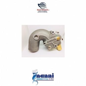 Coude echappement pour moteurs NANNI DIESEL 48300380 moteurs  4.380TDI 4.390TDI T4.155