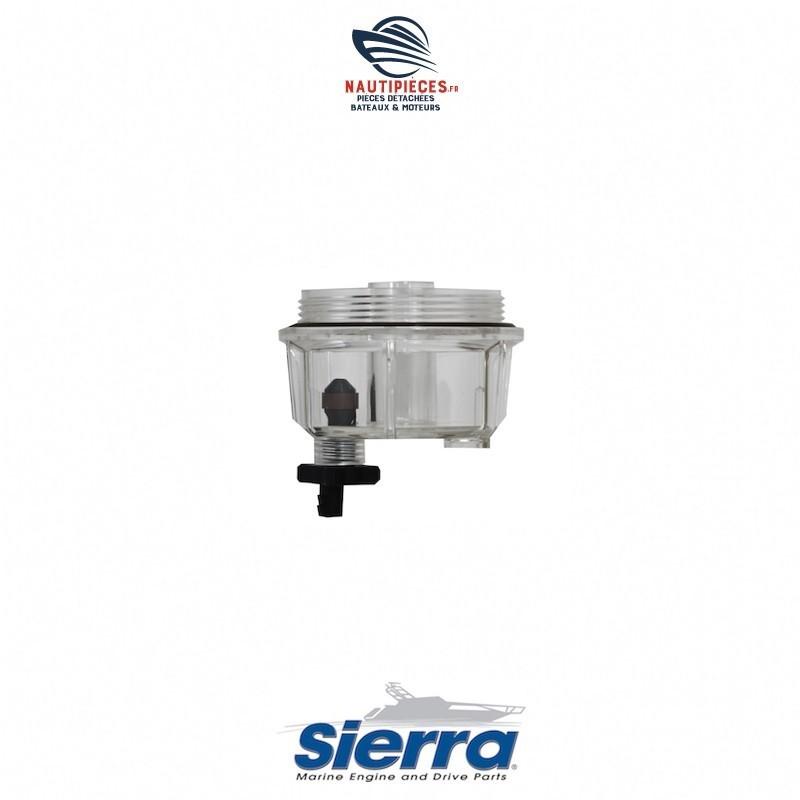 18-7922-1 bol transparent filtre séparateur eau carburant SIERRA RACOR PARKER 18-7948 S3227 320R 18-7922