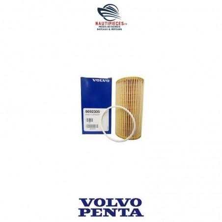 8692305 filtre à huile ORIGINE moteurs VOLVO PENTA D3 et V8 essence
