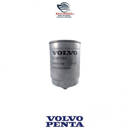 31261191 filtre à gasoil ORIGINE moteurs diesel VOLVO PENTA D3 D3-110 D3-130 D3-160 D3-190 8683212