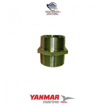 104214-13580 raccord coude échappement ORIGINE moteur diesel YANMAR MARINE YS