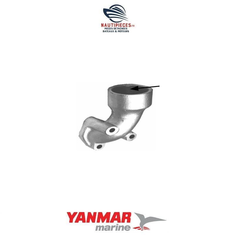 104511-13070 bride pipe échappement moteur diesel YANMAR MARINE YS12 YS YSB12 YSE12 YSM12 104500-13200
