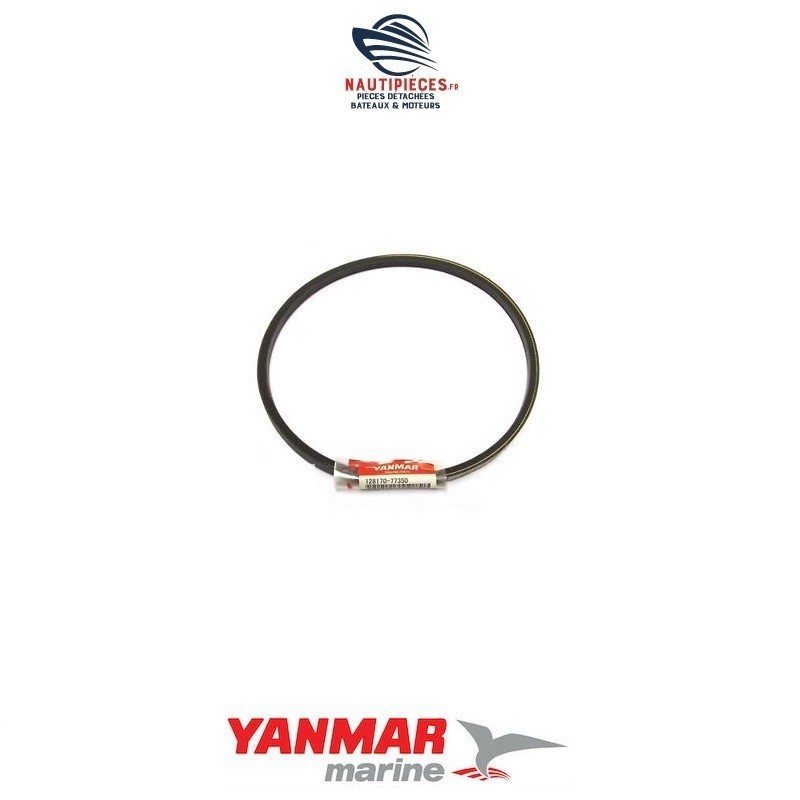 Courroie alternateur HM29 128170-77350 YANMAR MARINE 1GM 1GM10