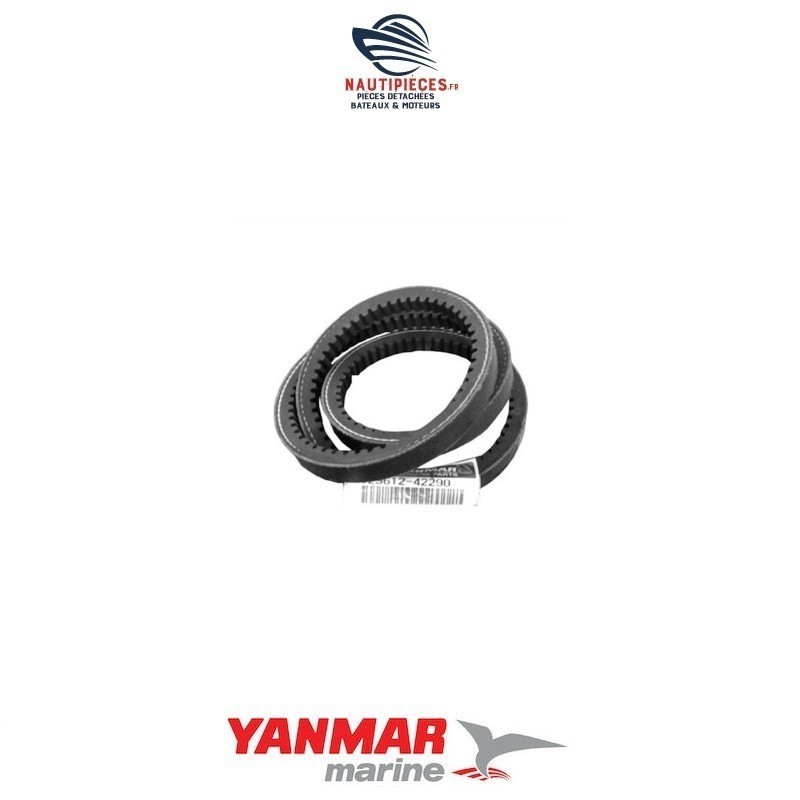 Courroie alternateur A37.5 YANMAR MARINE 129612-42290